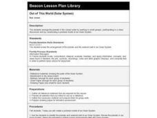 Out of This World (Solar System) Lesson Plan
