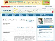 Outdoor Activities: Taking Science Outside Lesson Plan