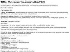 Outlining Transportation#139 Lesson Plan