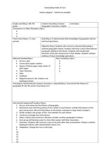 Outstanding Fields of Corn Lesson Plan