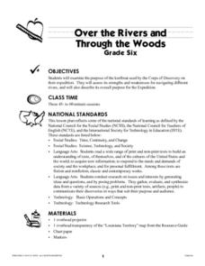 Over the Rivers and Through the Woods Lesson Plan