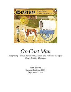 Ox-Cart Man: Integrating Theater, Visual Arts, Dance, and Film Lesson Plan