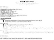 Pablita Indian Legends Lesson Plan