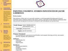 PAINTING COLORFUL STORIES INFLUENCED BY JACOB LAWRENCE Lesson Plan