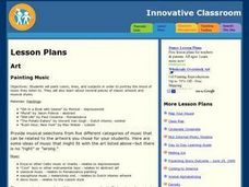 Painting Music Lesson Plan