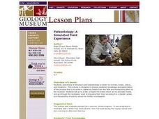 Paleontology: A Field Experience Lesson Plan