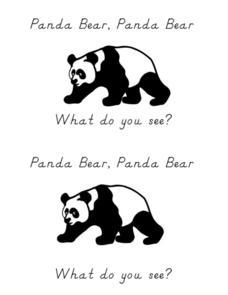 Panda Bear, Panda Bear What Do You See? Kindergarten - 1st ... - photo#22