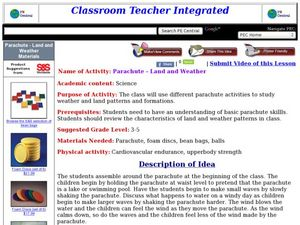 Parachute - Land and Weather Lesson Plan