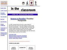 Paradise Postponed Lesson Plan