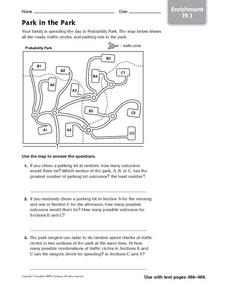 Park in the Park: Enrichment Worksheet