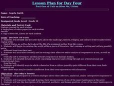 Part One of Unit on Bless Me, Ultima Lesson Plan