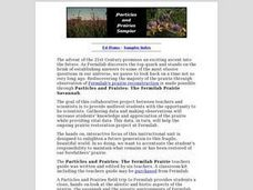Particles and Prairies Sampler Lesson Plan