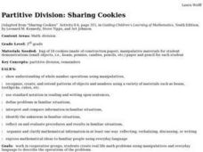 Partitive Division: Sharing Cookies Lesson Plan