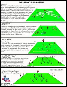 Passing Lesson Plan