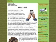 Patent Power Lesson Plan