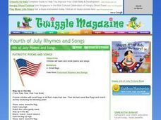 Patriotic Poems and Songs Lesson Plan