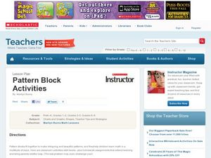 Pattern Block Activities Lesson Plan