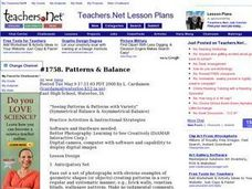 Patterns & Balance Lesson Plan