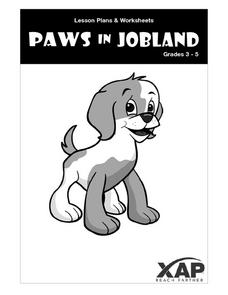 Paws in Jobland:   Getting to Know Paws in Jobland Lesson Plan