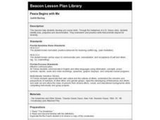 Peace Begins with Me Lesson Plan