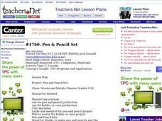 Pen & Pencil Set Lesson Plan