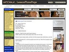 Penguin Theme Unit Lesson Plan