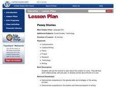 Penny Stories Lesson Plan