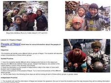 People of Nepal Lesson Plan