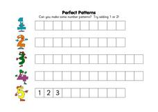 Perfect Patterns Worksheet