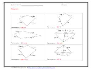 Perimeter of Kite 9th - 11th Grade Worksheet | Lesson Planet | 300 x 225 png 65kB