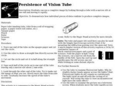 Persistence of Vision Tube Lesson Plan