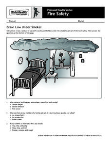 Personal Health Series: Fire Safety Worksheet