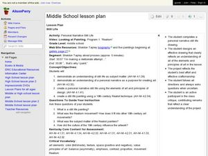 personal essay lesson plans Grade 6-8: introduce a topic organize complex ideas, concepts, and information to make important connections and distinctions understand expository organizational.