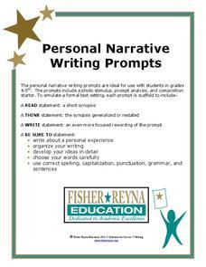 sixth grade essay prompt