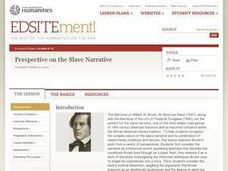 Perspective on the Slave Narrative Lesson Plan