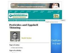 Pesticides and Eggshell Thinning. Lesson Plan