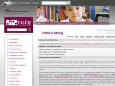 Peter's String Lesson Plan