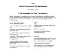 Pharmaceuticals and Treatments Lesson Plan