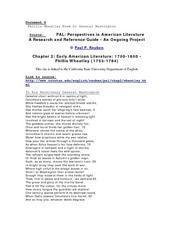 Phillis Wheatley Poem to General Washington Lesson Plan