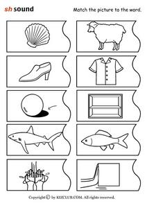 Phonics: Sh Sound Worksheet