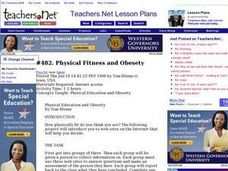 Physical Fitness and Obesety Lesson Plan