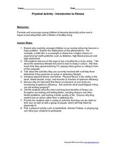 Physical Fitness Lesson Plan