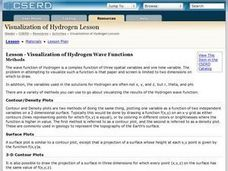 Physics: Visualization of Hydrogen Wave Functions Lesson Plan