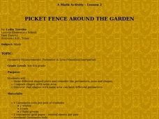 Picket Fence Around the Garden Lesson Plan