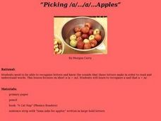 Picking /a/.../a/...Apples Lesson Plan
