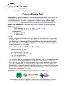 Picture a Healthy Body Lesson Plan