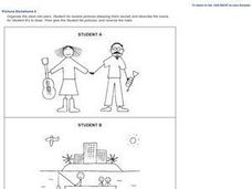 Picture Dictations 2 Worksheet