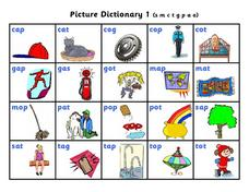 Picture Dictionary Worksheet