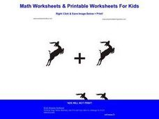 Picture Math Worksheet