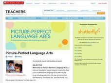 Picture-Perfect Language Arts Lesson Plan